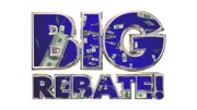 Big Rebate Get Tax Money Back Words 3d Animation