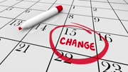 Change Day Date Major Shift Different Plan Calendar 3d Animation