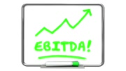 EBITDA Earnings Accounting Profit Revenue Erase Board 3d Animation