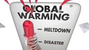 Global Warming Crisis Thermometer 3d Animation