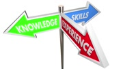 Knowledge Skills Experience 3 Way Three Signs 3d Animation