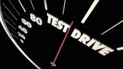 Test Drive Car Vehicle Evaluation Review Shopping 3d Animation