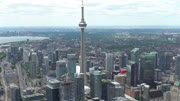 4K Video Sequence of Toronto, Canada - CN Tower