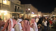 Old stret in Qatar middle east