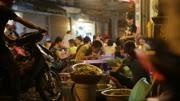 Restaurant busy on Vietnam street