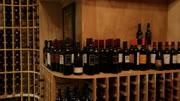 Wine bottles cellar